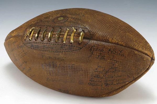 Palla da rugby del 1932