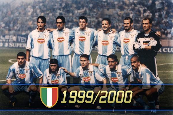 Formazione della Lazio del 1999-2000