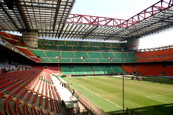 Interno Stadio Meazza