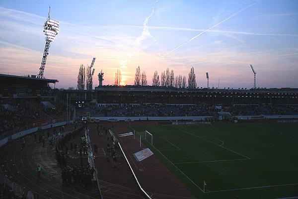 Interno Stadio di Strahov