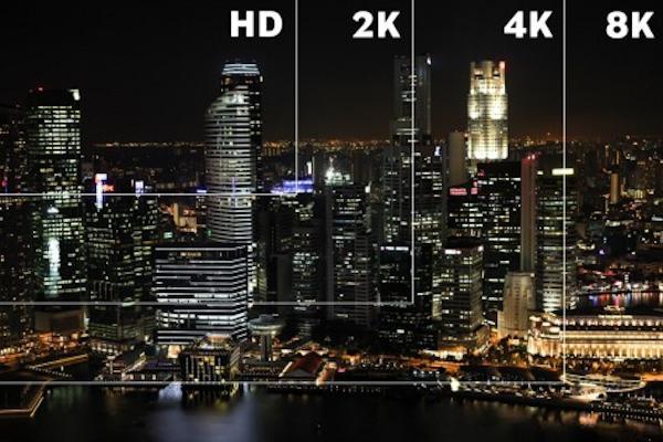 Le differenti risoluzioni dei modelli TV