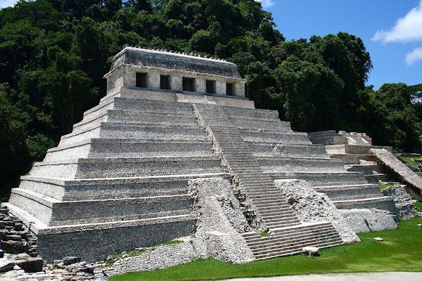 Tempio di Palenque (Chiapas)