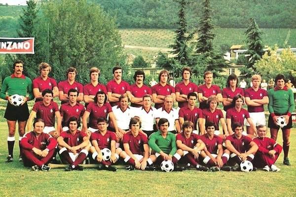 La formazione campione d'Italia del 1975-1976