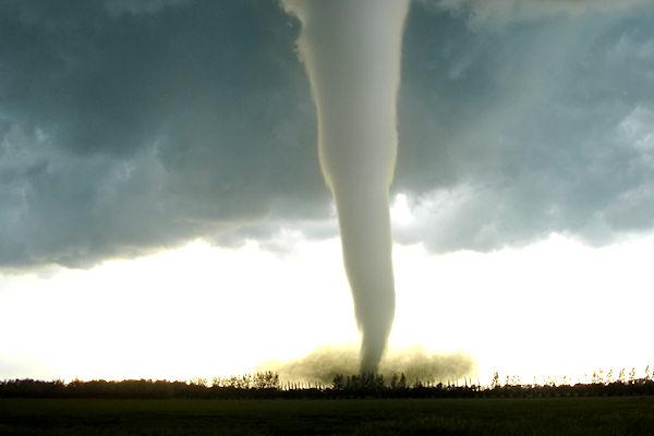 Tornado scagliatosi nel 2007 sulla provincia canadese di Manitoba
