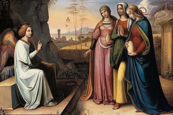 Nel giorno di Pasquetta si ricorda l'annunciazione dell'Angelo alle tre Marie