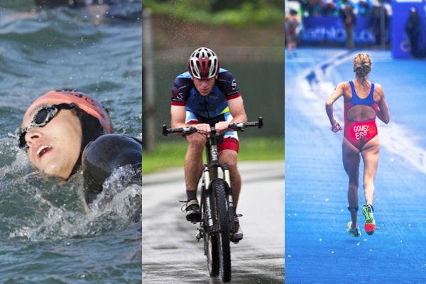 Il Triathlon è l'unione di 3 discipline sportive