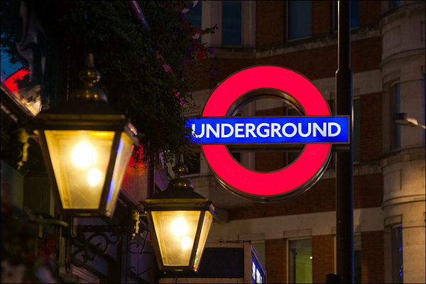 La metropolitana di Londra è conosciuta con il nome Underground