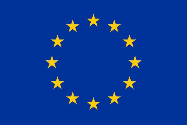 Le 12 stelle della bandiera dell'UE rappresentano l'unità, la completezza