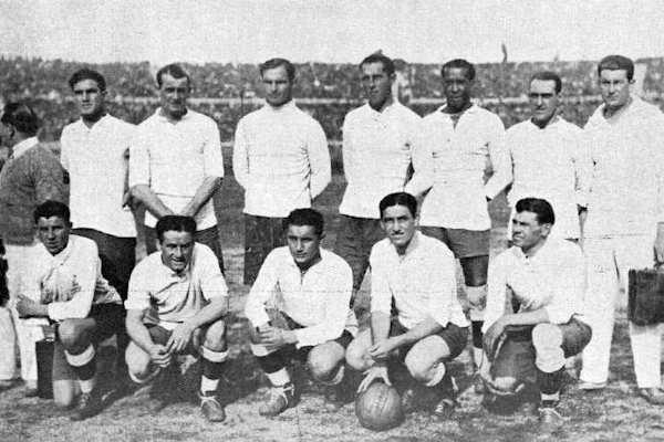 La nazionale dell'Uruguay del 1930