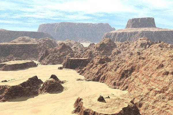 La Valle della Morte è anche la zona più calda del continente americano