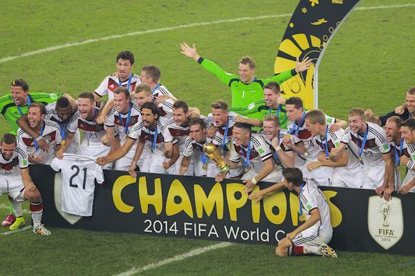 La Germania vince il mondiale Brasile 2014