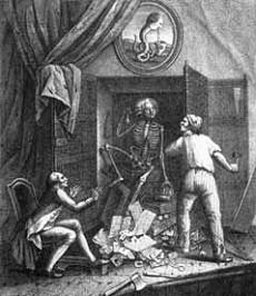 Avere uno scheletro nell'armadio: cosa significa?