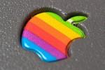 Logo Apple anni 1977-1998