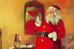 Babbo Natale era stato usato anche per le pubblicità di White Rock
