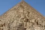 Blocchi di 1,5 tonnellate della Piramide di Cheope