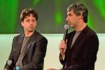I fondatori di Google Sergey Brin e Larry Page