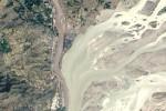 Esondazione del fiume pakistano Kabul nel 2010