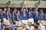 La nazionale francese che ha vinto i mondiali nel 1998