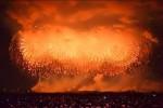 Il più grande fuoco artificiale singolo