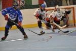 L'hockey su pista si gioca indossando pattini a rotelle
