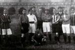 La formazione del 1908, allenata da Virgilio Fossati