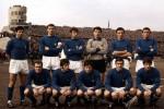 La formazione degli Azzurri nel 1968