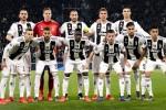 La formazione della Juventus, stagione 2018/2019