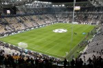 Panoramica dello Juventus Stadium, 105 m x 68 m
