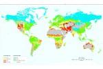 Mappa del rischio di desertificazione