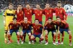 Nazionale spagnola campione agli europei 2012