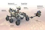 Il rover Perseverance atterrato su Marte nel 2021