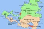 Cartina Saint Martin