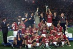 La Roma campione nella stagione 2000-2001