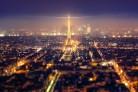 La tour Eiffel di notte