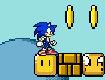 Sonic come Mario - Sonic in Mario World 2