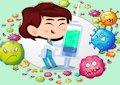 <b>Virus bubble shooter