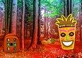 <b>Fuga dalla foresta dei totem - Dreamy tiki forest escape