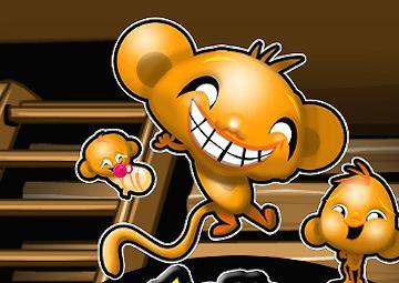 Gioco scimmietta felice cabina for Cabine in piccione forgiano con giochi arcade