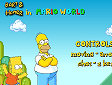 Simpson in Mario - Bart e Homer in Mario World