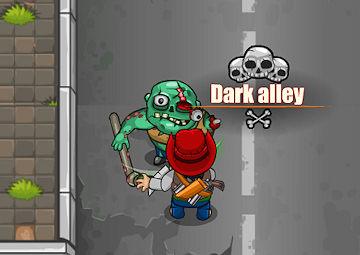 gioco strada con zombie