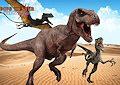 <b>Cacciatore di dinosauri - Dino hunter killing strand