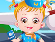<b>Hazel diventa hostess - Baby hazel air hostess
