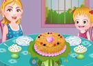 <b>Hazel torta per mamma - Baby hazel baking apple cake