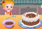 <b>Hazel foresta nera - Baby hazel black forest cake