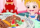 <b>Hazel dolce natalizio - Baby hazel buche de noel