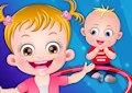 <b>Hazel e Matt con la babysitter - Baby hazel daycare