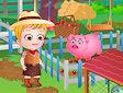 <b>Hazel in fattoria - Baby hazel farm tour