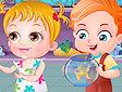 Hazel e il pesciolino - Baby Hazel goldfish