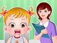 <b>Hazel infiammazione alle gengive - Baby hazel gums treatment