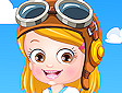 <b>Hazel diventa pilota - Baby hazel pilot dressup